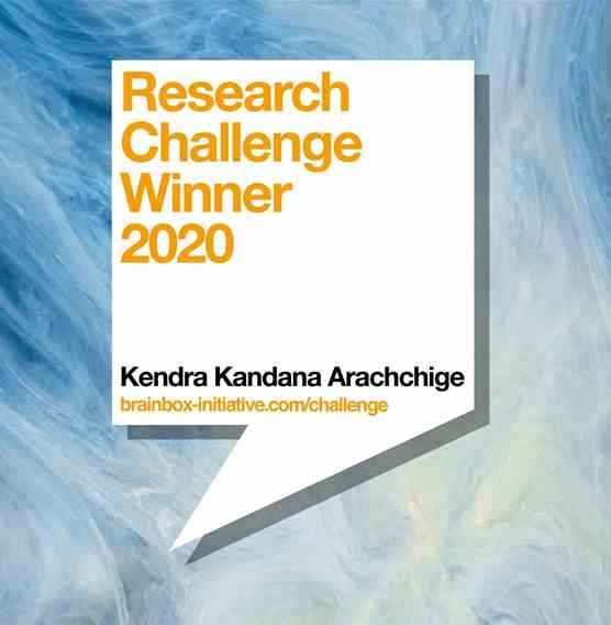 Research Challenge Winner 2020: Kendra Kandana Arachchige