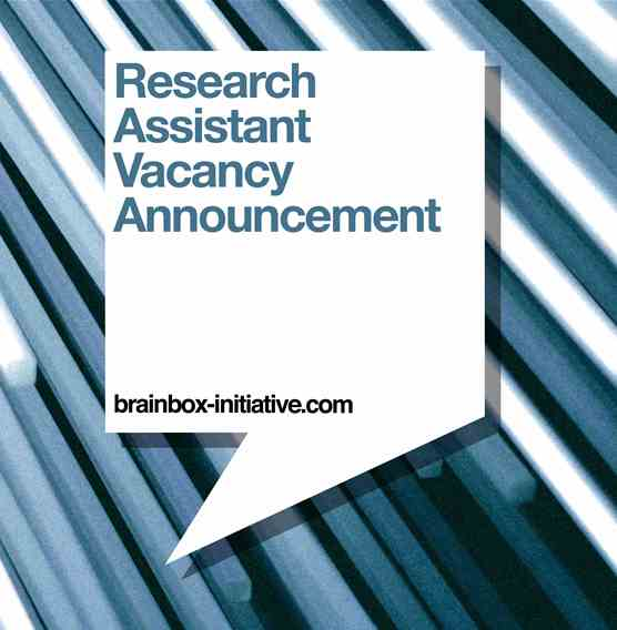 Research Assistant Vacancy Opportunity