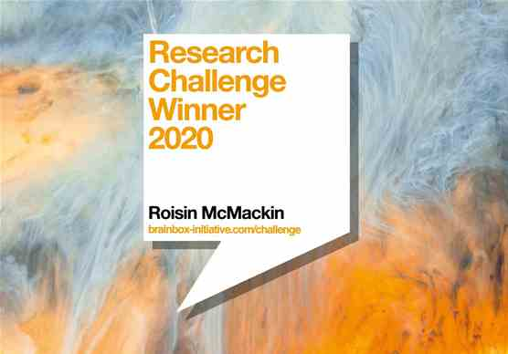 Research Challenge Winner 2020: Roisin McMackin